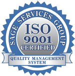 Sage Services Group ISO 9001 Certified